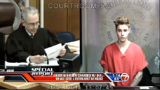Justice - Justin Bieber libéré après son arrestation à Miami pour conduite en état d'ivress