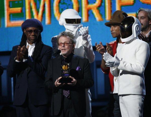 Grammy Awards - Les Daft Punk ont triomphé cette nuit aux Grammy Awards avec 5 trophées