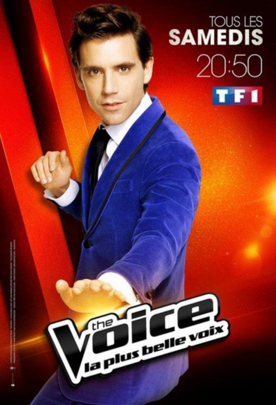 """The Voice -Mika """"Parfois j'ai été déçu en me retournant et en découvrant le candidats sur la scène de The Voice"""""""