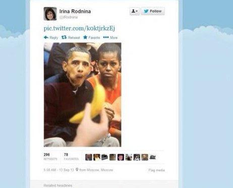 Buzz / JO de Sotchi - Un tweet raciste envers Barack Obama crée la polémique