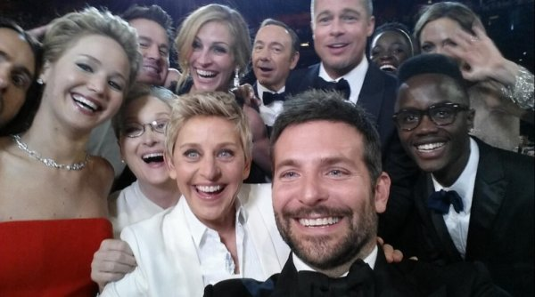 Oscars 2014: Une photo a battu cette nuit le record du monde du plus grand nombre de retweets