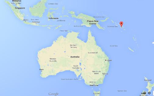Seisme - Nouveau tremblement de terre de 7,7 cet après-midi au large des îles Salomon