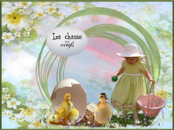 Joyeuses Paques à tous mes amis qui célèbrent Pâques demain!