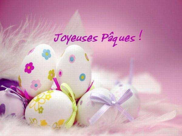 Joyeuses Pâques à tous mes amis qui fêtent la Résurrection du Christ aujourd'hui !