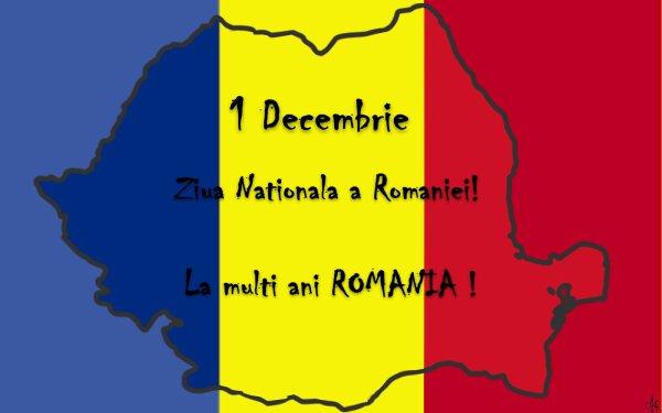 LE 1-er DECEMBRE C'EST LA FETE NATIONALE DE LA ROUMANIE!
