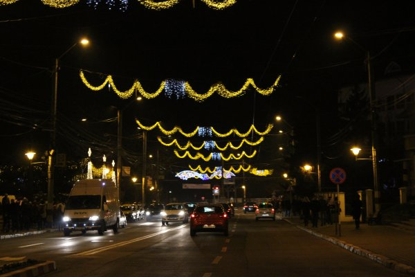 Chez  moi ce soir ont été allumés les  lumières de Noël