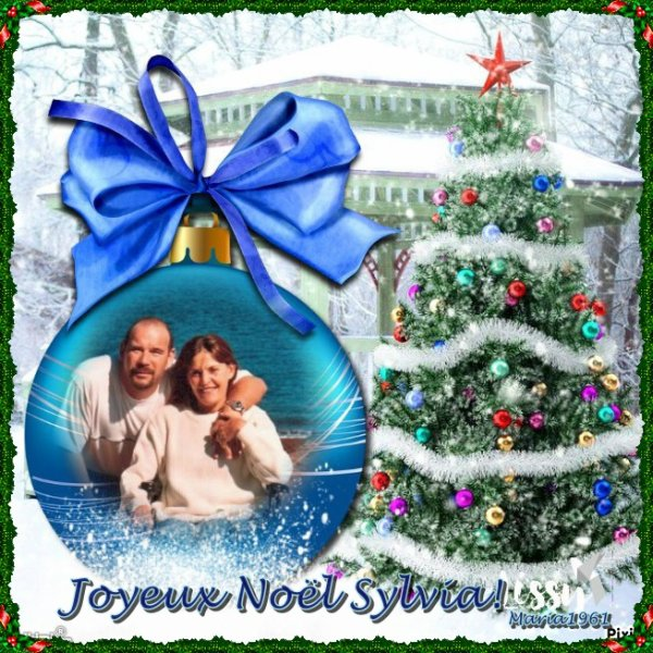 Joyeux Noel a  mon amie  sylvia17455