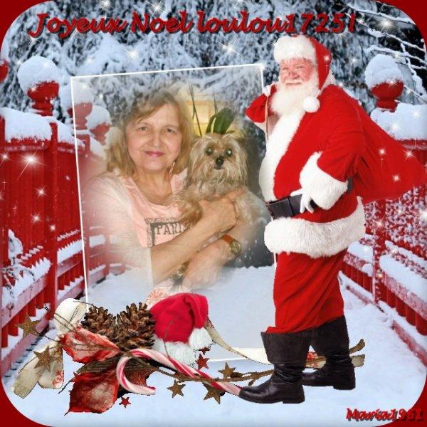 Joyeux Noel a  mon amie loulou1725