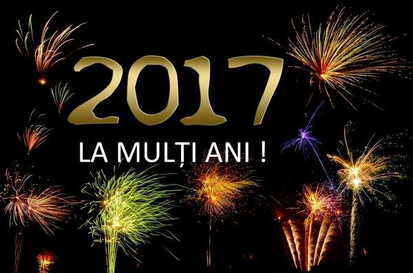 La mulţi ani 2017! Bonne année 2017!