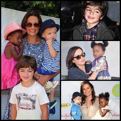 Ces enfants : August , Amaya et Andrew