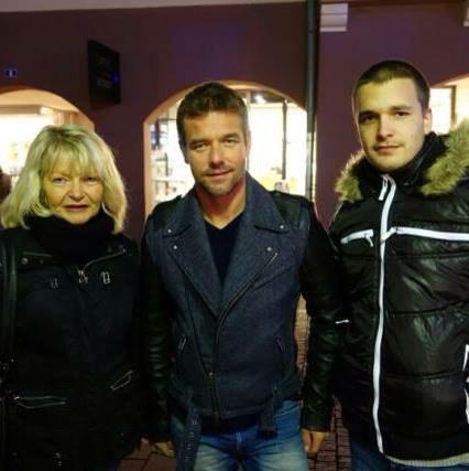 Avec Sébastien Loeb
