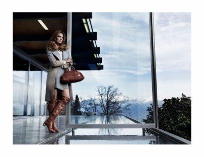 Daria Werbowy pour Hugo Boss Automne-Hiver 201-2012