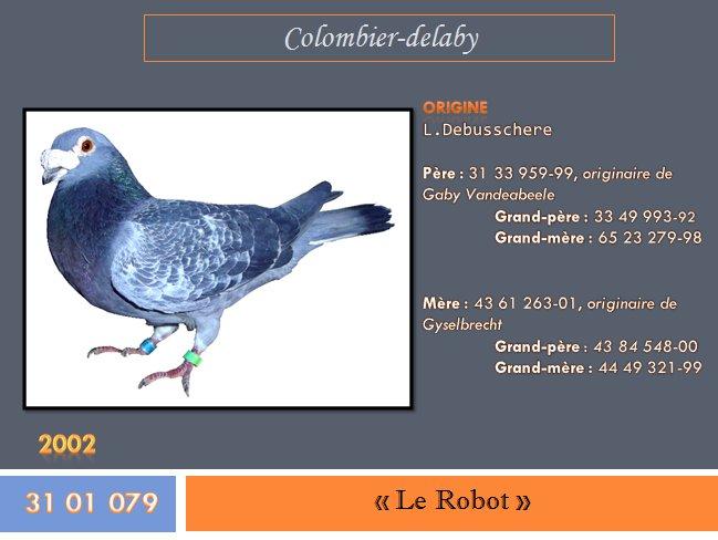 """"""" Le Robot """", bague n° 31 01 079-02"""