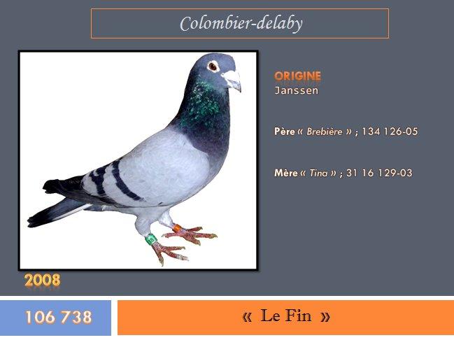 """"""" Le Fin """", bague n° 106 738-08"""