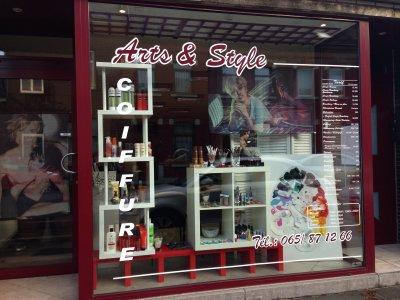 Arts & Style Coiffure    <  ' Au féminin et au masculin '  >