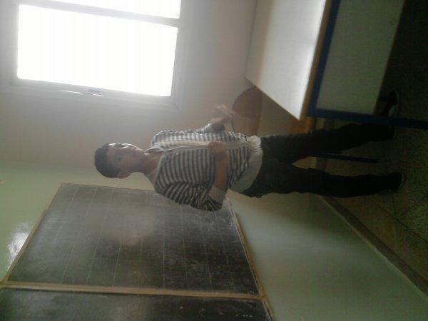 moi dans la classe