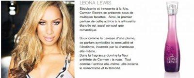 Présentation &  LES PARFUMS GAMME DE STARS MONDIALES
