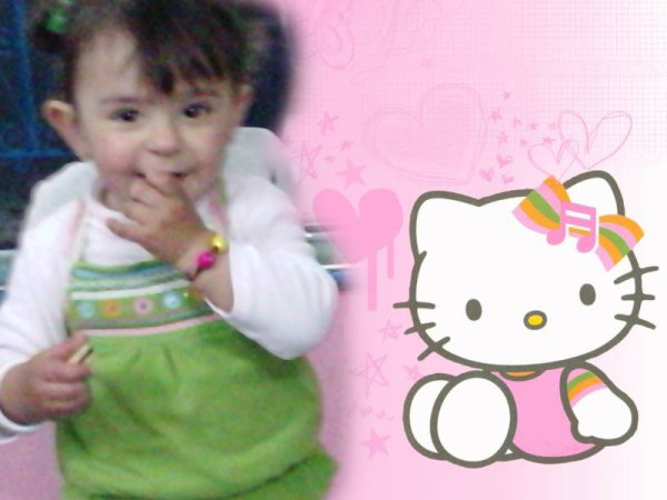 abrar & hello kitty:)