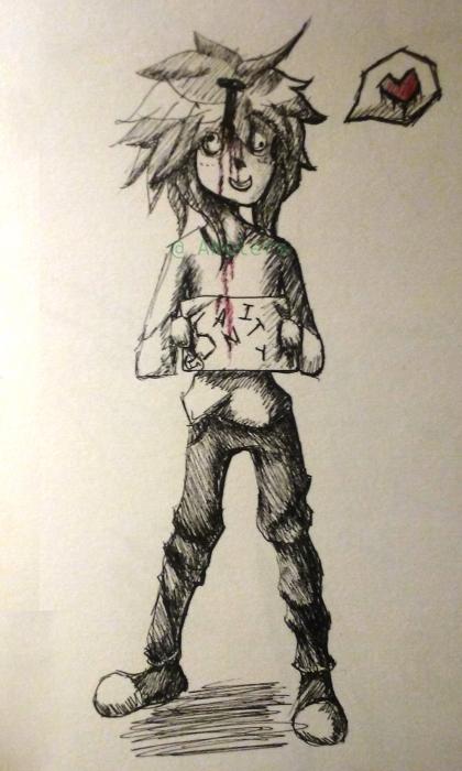 Un jour j'ai rencontré un crayon et une feuille de papier ♥