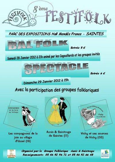 Festifolk 28 - 29 Janvier 2012