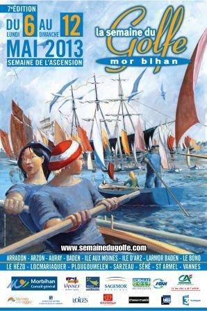 """Le groupe """" Vichy et ses Sources"""" sera présent à la semaine du Golfe du Morbihan qui aura lieux du 6 au 12 Mai 2013"""