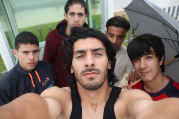 entrainement dans la pluie avec mon equipe ( TEAM TPFR )