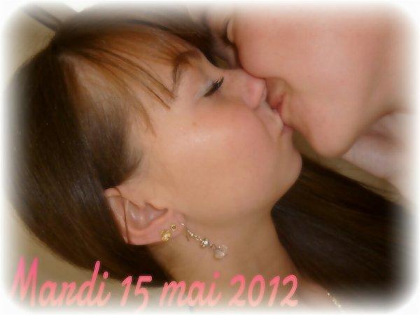 mardi 15 mai 2012 le plus beau jour de ma vie <3 je t'aiime