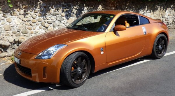 "Ma voiture ""Sunset"", 2004 Nissan 350Z"