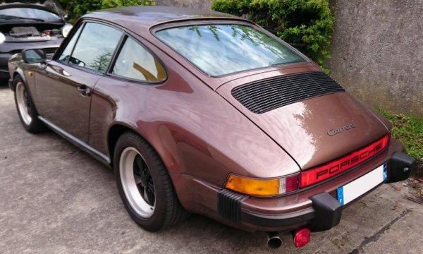 Révision boîte sur Porsche 911 Carrera '85