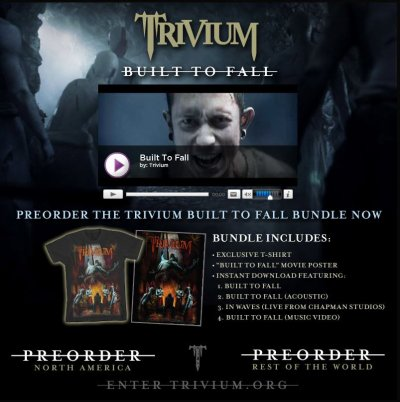 trivium  built to fall