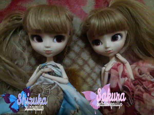 Dimanche 21 decembre 2014:~♥Sakura & Shizuka♥~