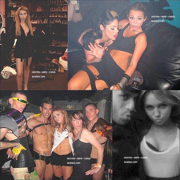 ......  Photos personnel de Miley, grand CHOC ! ......