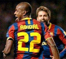 Abidal envoie le Barça en quarts de finale !