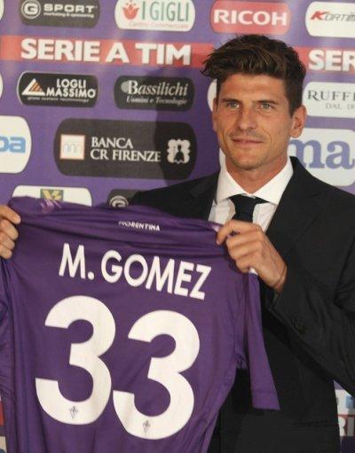 mario gomez signe avec la fiorentina :
