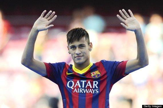 neymar au barca :