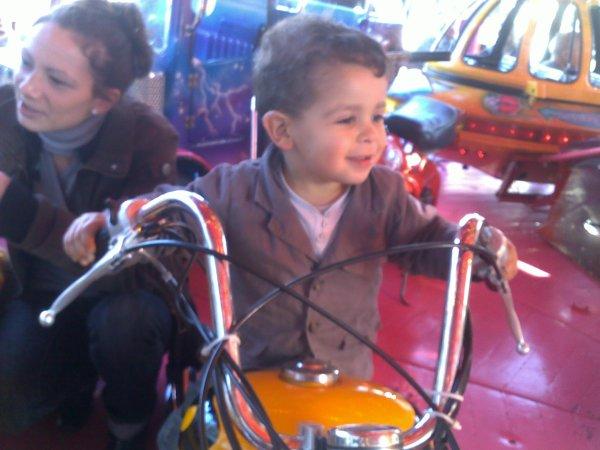 mon petit fils Yaniss