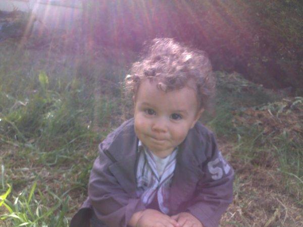 mon petit fils Ilyès