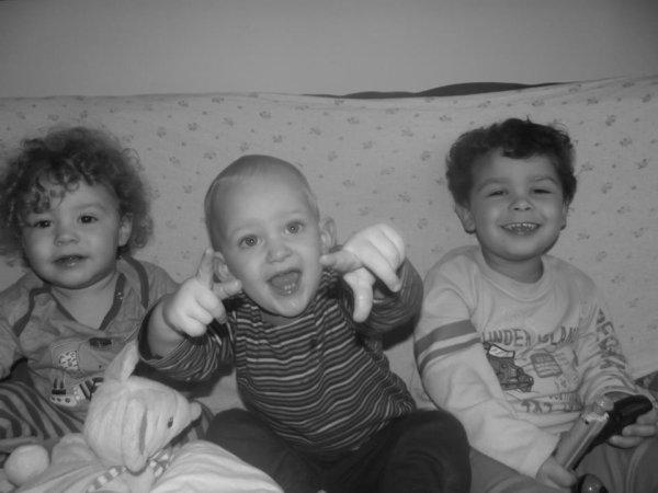 Mes trois petits fils ( Ilyès,Ilhan et Yaniss )