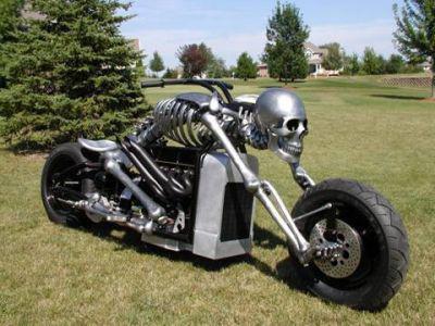 la moto de le mort