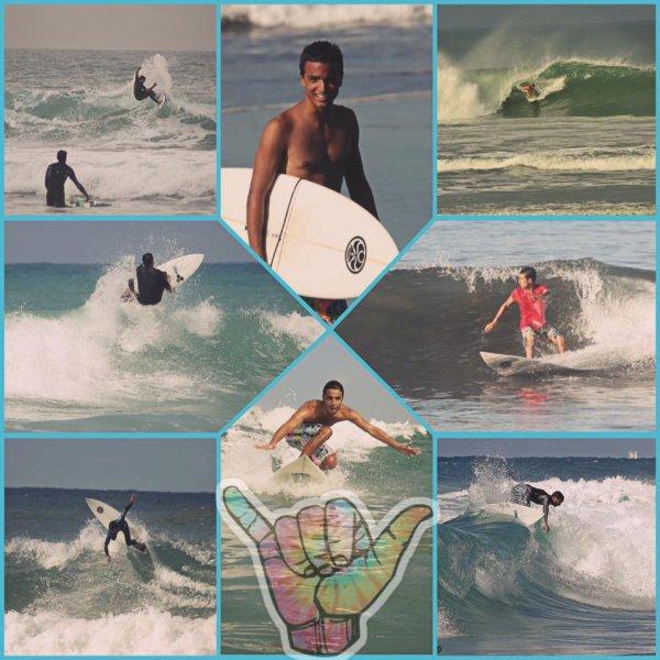 C'est le surf, les vagues qui font battre mon coeur ...