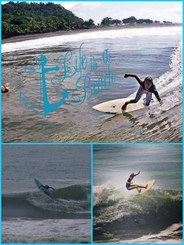 Une belle vague dure trente secondes et on s'en souvient toute sa vie.