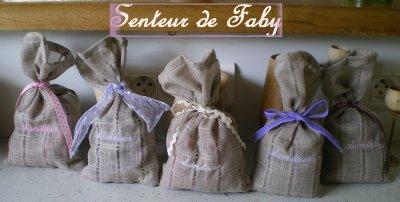 Des petits sacs senteurs...