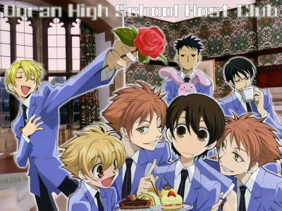 Ouran Hight Scool Host Club