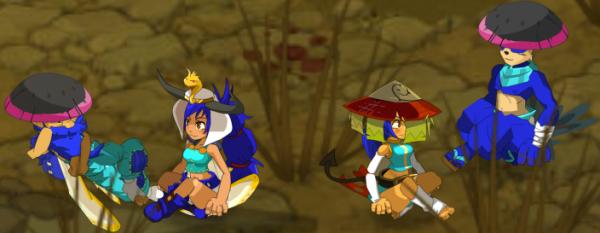 Les personnages ! Feca, L'Osa, Panda, L'Enu