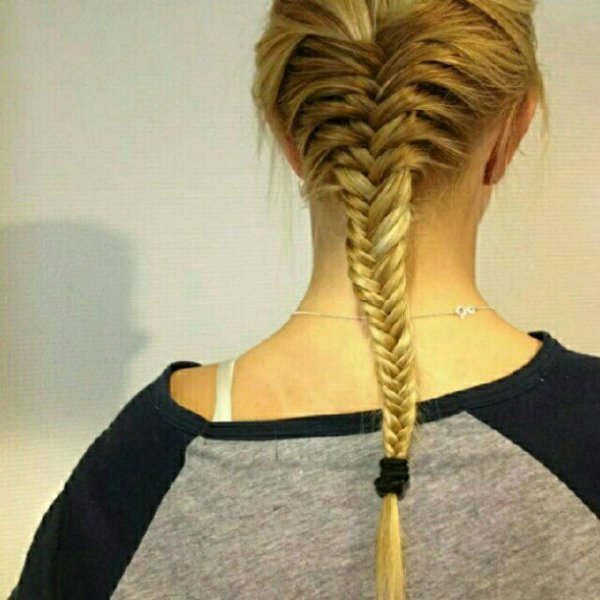 Tresse epi de bl blond tendance mode et coiffure 2012 - Tresse epis de ble ...