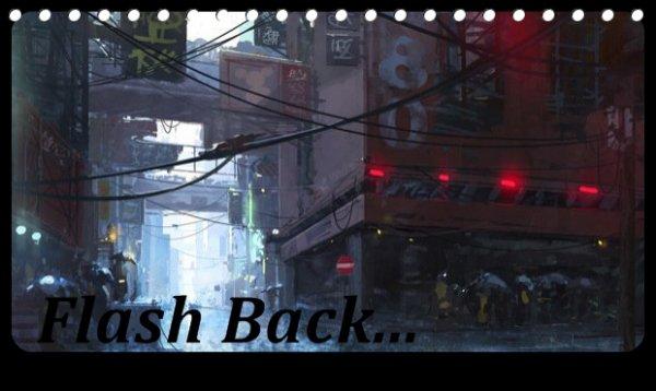 Quand deux mondes différents se rejoignent Chapitre 1 : Flash back