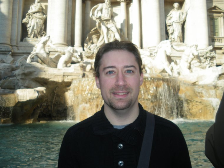 Trevi Fountain, Rome, Italie (Italy)