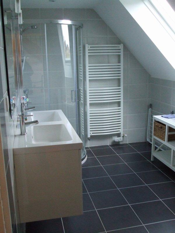 La salle de bain du gîte 2