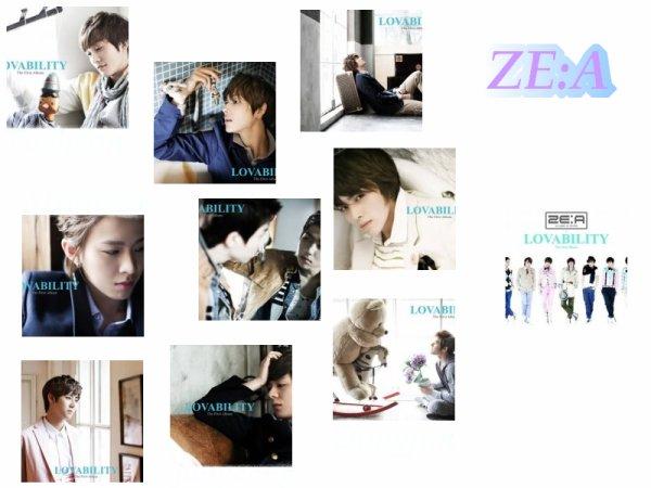 Découvrez le teaser original des ZE:A