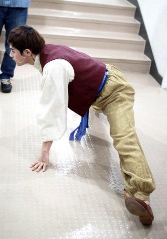 Dongjun s'entraine =)